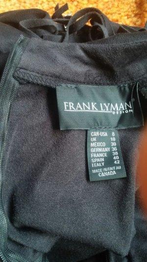 Neu Damen Kleid extravagante Designer Edel Tunika Gr. 36 in Schwarz v. Frank Lyman P. 273€