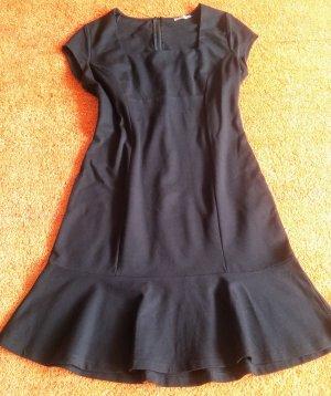 NEU Damen Kleid Jersey Godet Kleid Gr.38 in Schwarz von Orsay