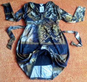 Neu Damen Kleid Jersey Gr.42 in Mehrfarbig gemustert von Class