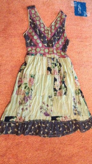 NEU Damen Kleid leichter Sommer Patchwork Gr. S Mehrfarbig von ENJOY