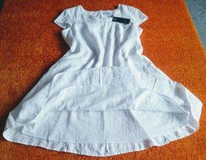 NEU Damen Kleid Leinen Sommer Gr.44 in Weiß P.149,95€