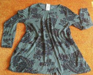 NEU Damen Kleid Tunika leicht luftig schwingend Gr.38/40 mehrfarbig v.Fashion