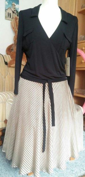 Neu Damen Kleid Wickelkleid Langarm V-Ausschnitt Gr.S/M von Apanage P.159,95€