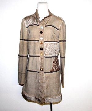 Bottega Manteau court multicolore tissu mixte
