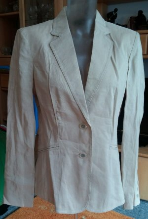 Apanage Short Blazer oatmeal linen