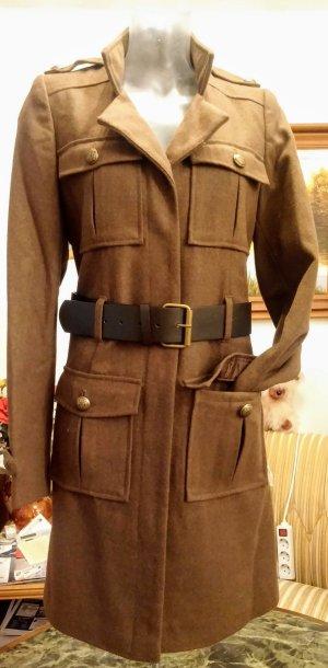 NEU Damen Mantel Wolle Gr.38 in Khaki/Braun von 3 Suisses