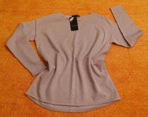 Apanage Maglione lavorato a maglia rosa antico Cotone