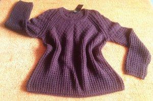 Neu Damen Pullover Winter Woll Pulli Gr.L in Bordeu von Apanage P.69,95€