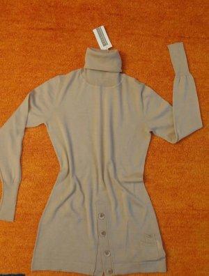 Neu Damen Pullover Woll feine Tunika Gr.S in Beige von Kapalua P.89,95€