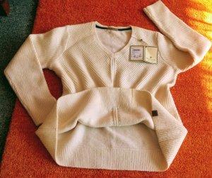 Basefield Jersey de lana blanco puro Lana