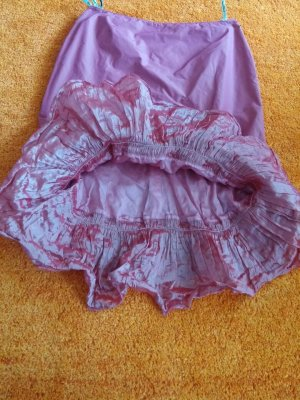 Vera Mont Falda asimétrica rosa Poliéster