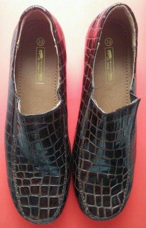 NEU Damen Schuhe Mokassin Gr.39 in Braun von Verona di Marco