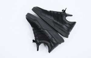 NEU, Damen, Schwarze Sneakers, Filling Pieces, in Originalverpackung, Grösse 40