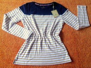 NEU Damen Shirt gestreift Gr.M in Blau von Basefield P.29,99€