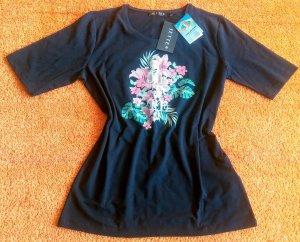NEU Damen Shirt Sommer Gr.40 In Blau/Bunt P.39,99€