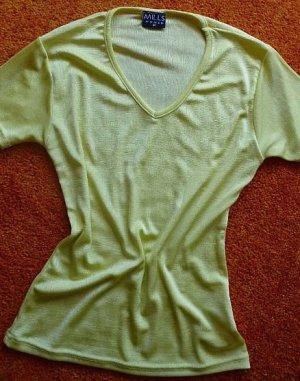 Mills Women Boothalsshirt geel-neongeel Polyester