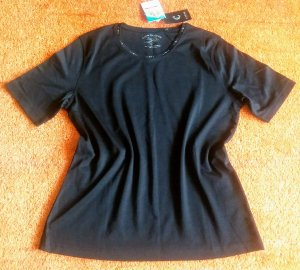 Clarina Boatneck Shirt black cotton