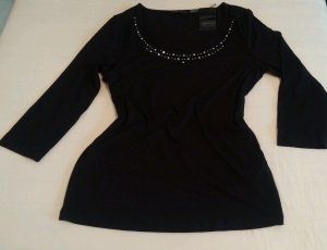 Apanage Boatneck Shirt black viscose