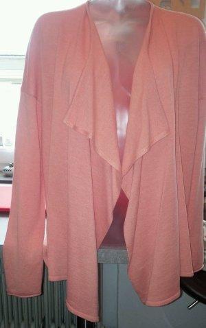 NEU Damen Strick Jacke Überwurf Cardigan von COLORADO DENIM Gr. L in Alt Rosa