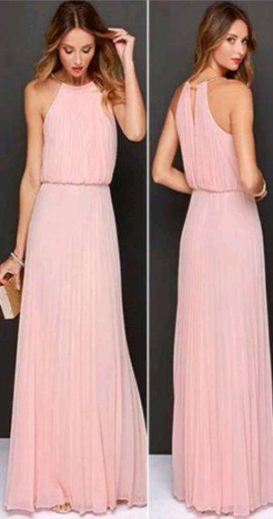 Amisu Vestido de noche rosa empolvado-rosa