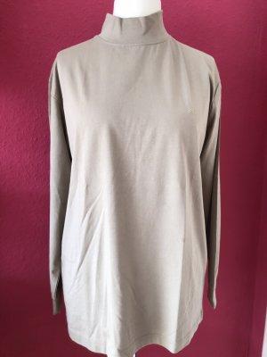 Daniel Hechter Long Shirt grey brown-beige cotton
