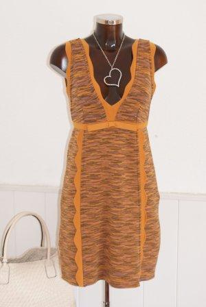 neu! DE 36 IT 42 MISSONI Kleid Softmerino Jersey Strickkleid Stiefelkleid