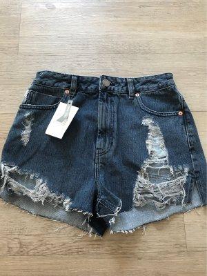 Asos Denim Shorts blu-blu scuro