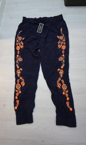 Juicy Couture Pantalone da ginnastica arancione-blu scuro