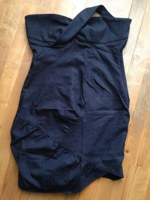 Kor&Kor Vestido strapless azul oscuro-azul