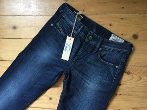 Neu!  DIESEL RONHARY Jeans Jeanshose dunkelblau W25 L32 34-36 S