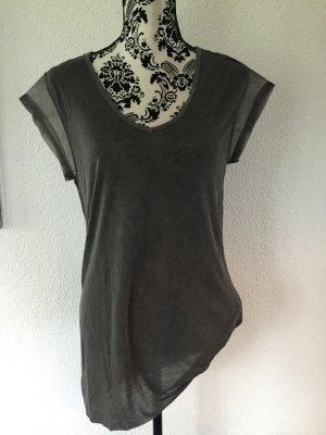 NEU *** DIESEL *** Top / Shirt mit transparentem Besatz Gr. M