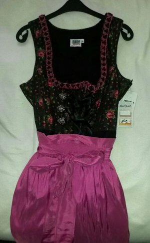 NEU *** Dirndl Country Line schwarz / pink Größe 40 *** NEU