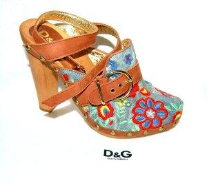 NEU - Dolce & Gabbana - Clog - Sandalen Gr.37