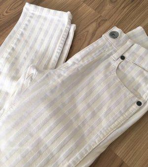 NEU Dr. Denim Jeansmakers Snap Super Skinny Jeans XXS 32 XS 34 Weiß Röhrenjeans