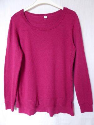 NEU: Dunkelpinker Strick-Pullover von S.Oliver