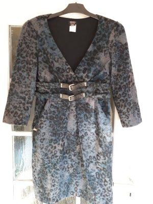 Miss Sixty Robe noir-bleu foncé tissu mixte