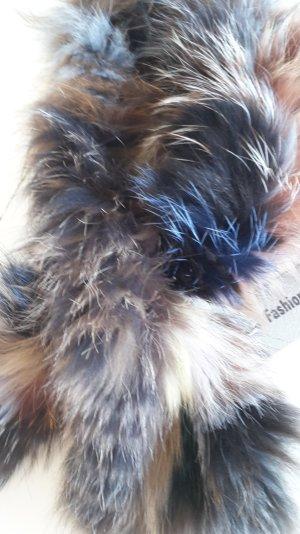 Neu! Echtfell-Kragen (Fuchs) mehrfarbig von fashion fourrure