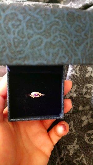 neu echtsilber ring rose vergoldet gr 17