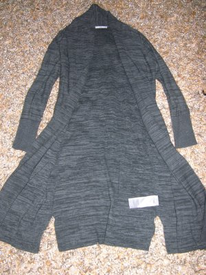 Neu! EDC by Esprit lange Strickjacke in Anthrazit, Gr. XS