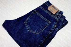 Eddie Bauer Jeans taille haute bleu foncé-bleu