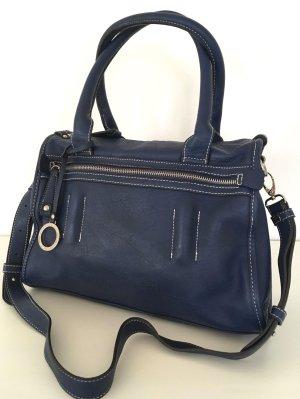 NEU Edina Ronay Damentasche Blau Business Bag Handtasche Schultertasche Shopper
