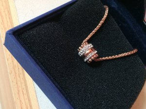 Swarovski Pendant silver-colored-gold-colored