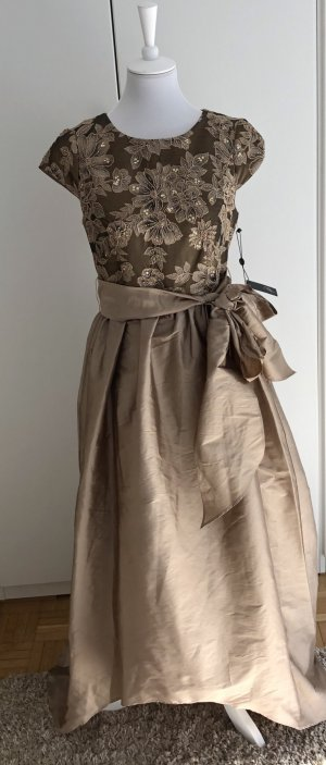 Adrianna Papell Evening Dress gold-colored