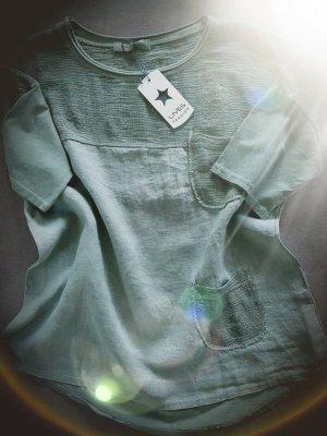 Oversized blouse khaki
