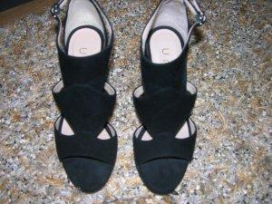 Neu! Elegante hochwertge High Heels von Unisa, Vollleder, Schwarz
