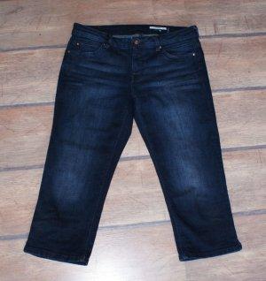 Edc Esprit 3/4-jeans donkerblauw Katoen