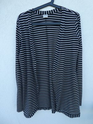 NEU - Esprit – Cardigan, schwarz-weiß gestreift
