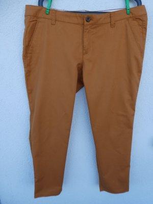 NEU - Esprit Damen-Hose Chino, orangeocker