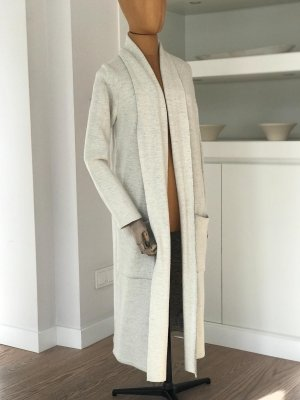 Esprit Knitted Coat natural white-light grey