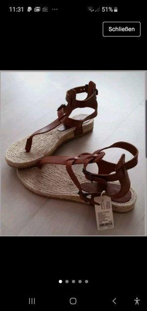 Neu Esprit Sandalen aus Leder Gr 37